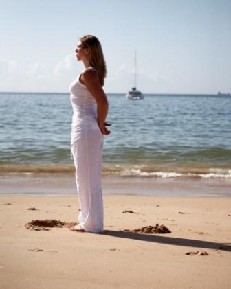 Lisbon Beach standing